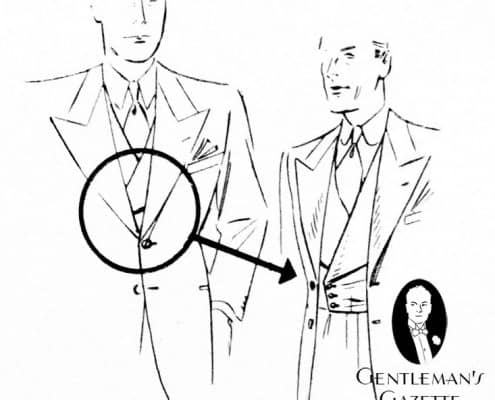 How to Wear a Double Breasted Waistcoat