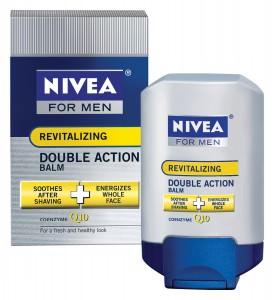 Nivea Double Action Q10 Aftershave & Moisturizer
