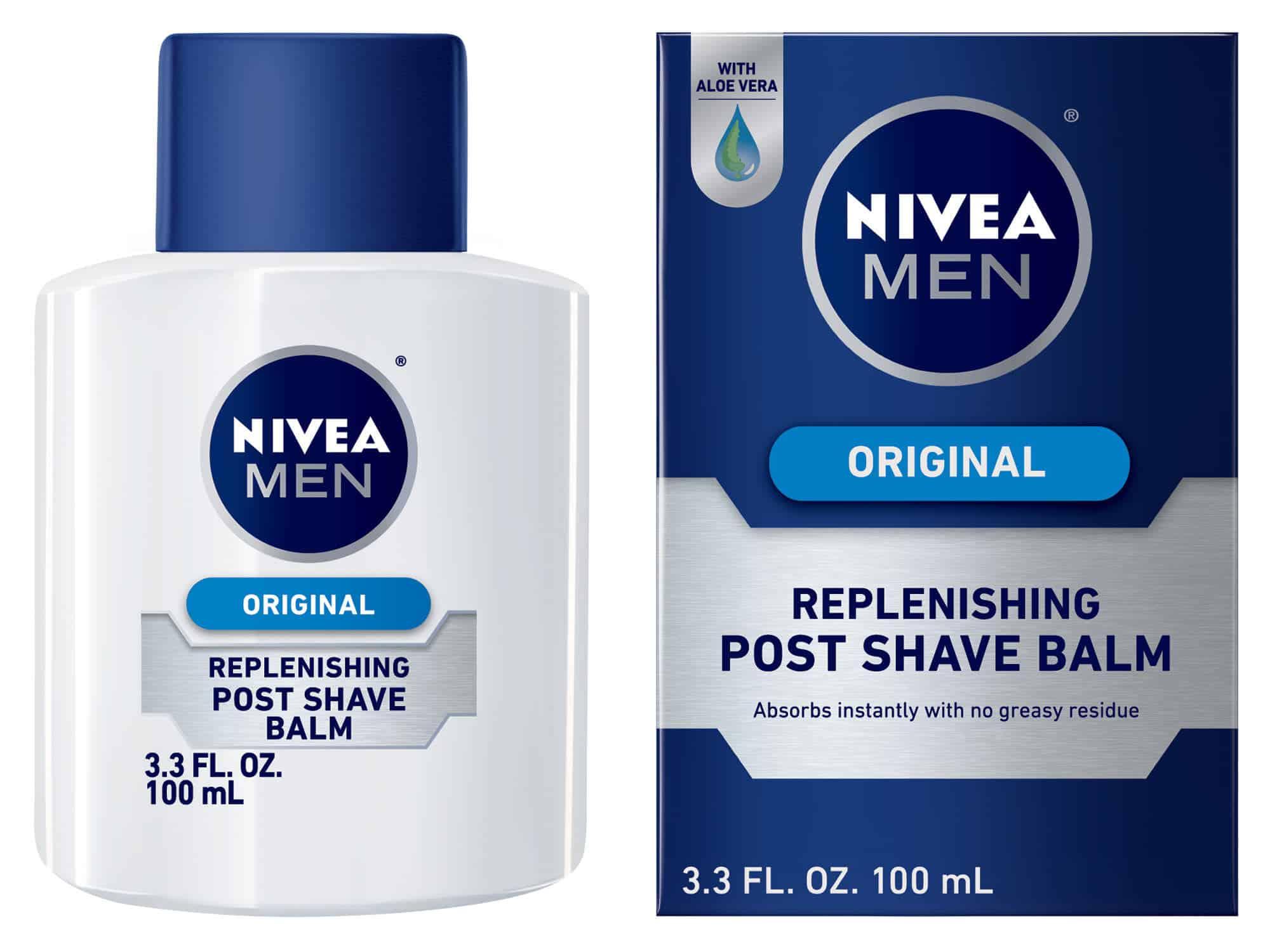 Nivea original after shave replenishing post shave balm