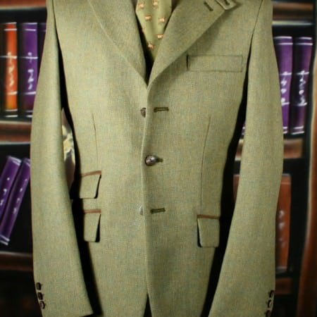 Plain Tweed Jacket