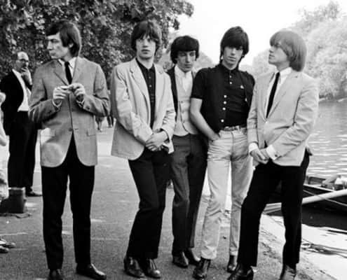 Rolling Stones in Chelsea Boots