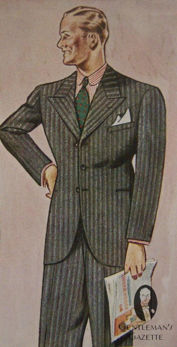 1930 Fashion Styles Men 39 S Suit Silhouettes Gentleman 39 S Gazette