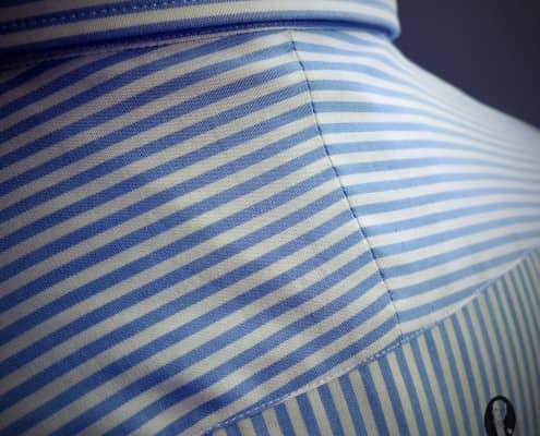 Split yoke with matching pattern