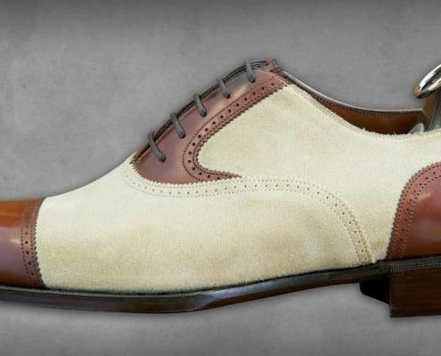St Ives - Vintage Cedar & Ivory Suede - Side