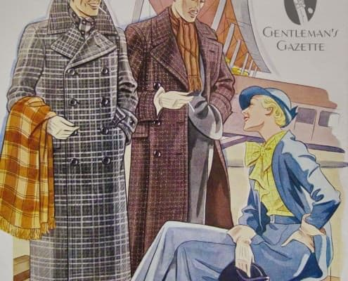 Stunning Checked Ulster Overcoats, Hats & Check = Pure Elegance