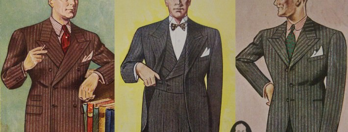 Suit Silhouette in 1934 Gentleman's Gazette