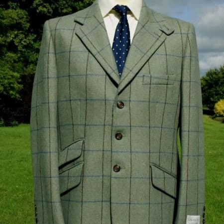 Tweed Jacket with windowpane
