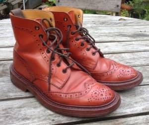 10 year-old Tricker's Stow boot by Gentleman's Gazette Reader Dr. Kieran Smith