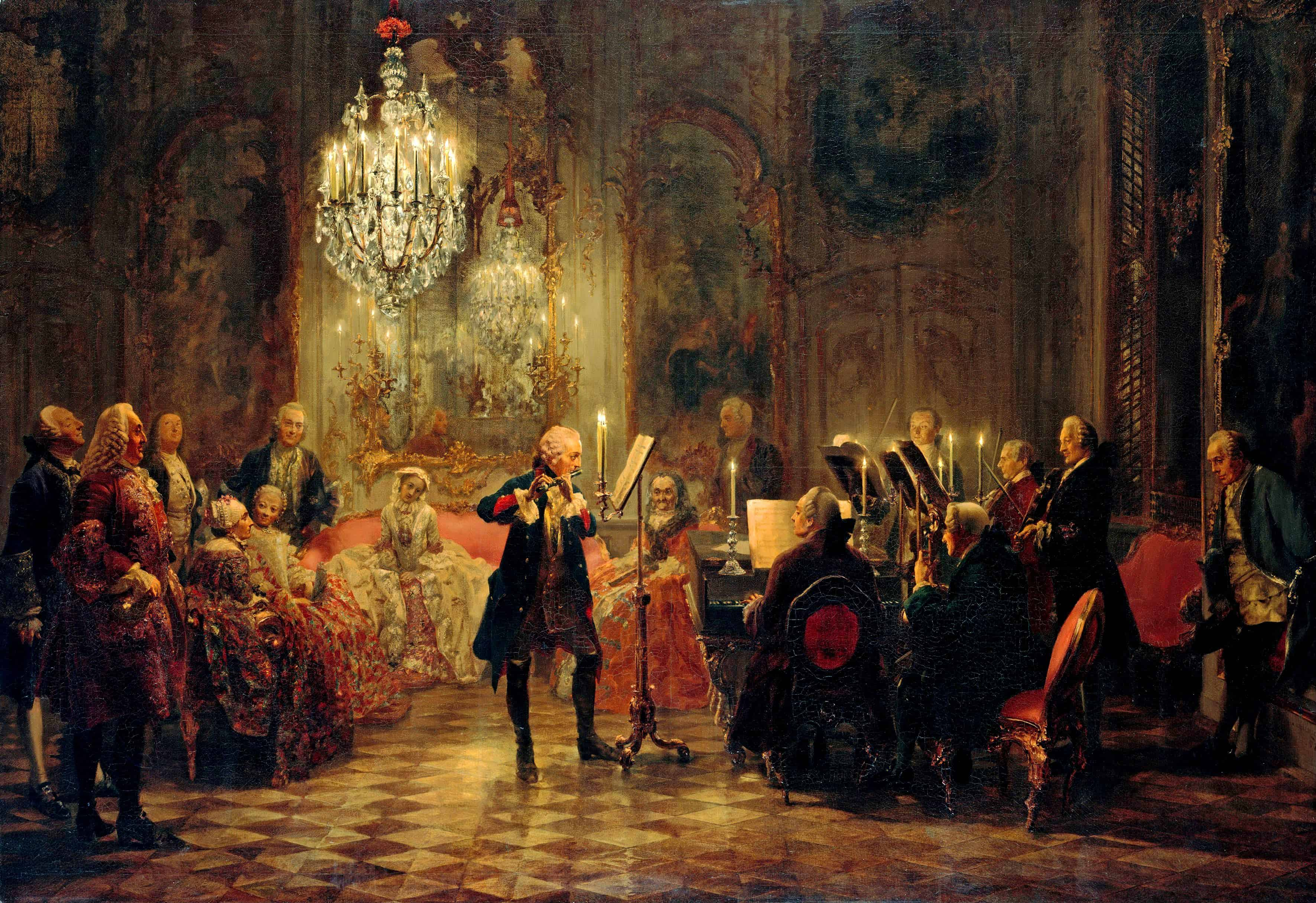 Image result for classical artwork symphony