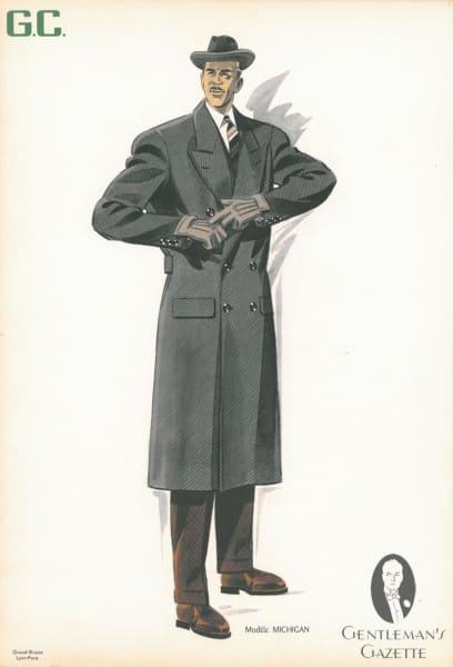 Diagonal Twill Guard Coat