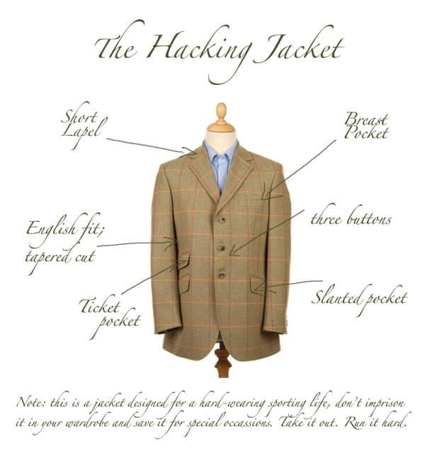 The Hacking Jacket Guide Gentleman S Gazette