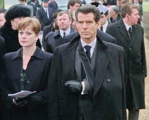 James Bond at a Funeral in the World is Not Enough
