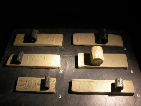 Correspondence was sealed using cylinder seals