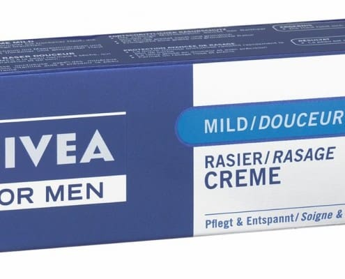 Nivea Shaving Cream - only available as an import product