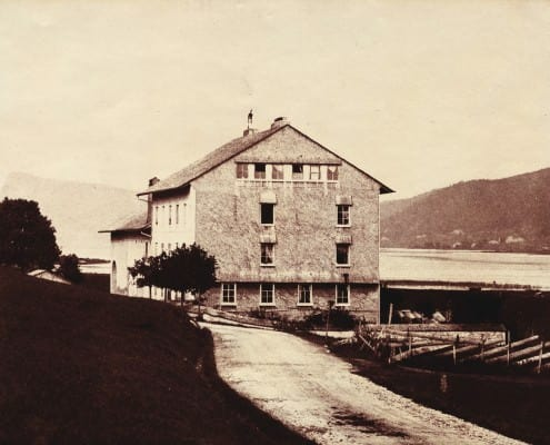 Old factory in 1833