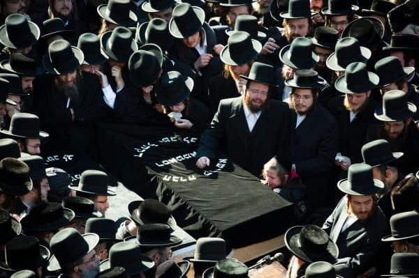 Orthodox Jewish funeral service