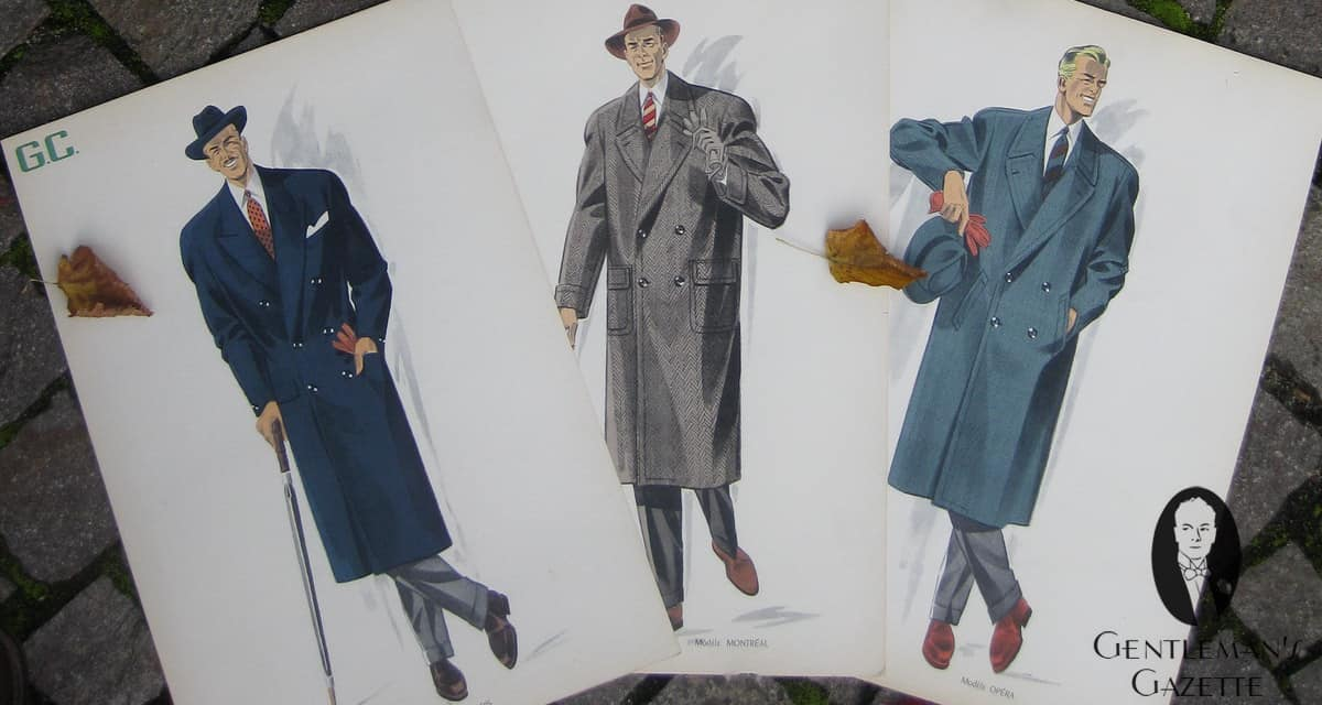 50s Clothing Men S Overcoats Suits