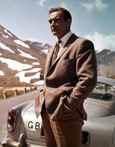Sean Connery as Bond in Hacking Jacket