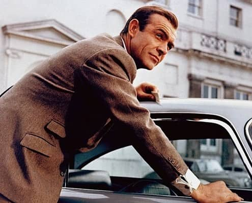 Sean Connery with Hacking Pockets on a Hacking Jacket