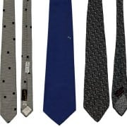 The Neckties of Harry S. Truman were all 3-Fold Ties