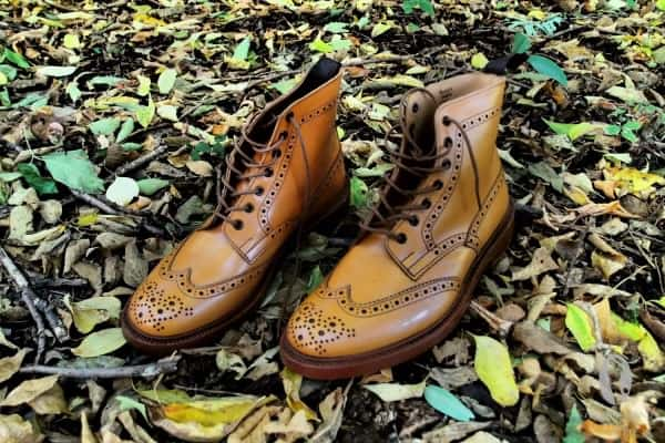 Tricker's Stow with double leather sole