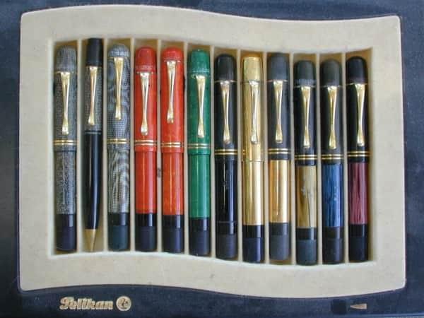 Vintage Pelikan Fountain Pens