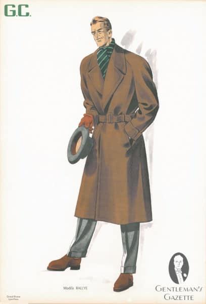 Wrap Coat in Camelhair
