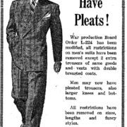 1944 You can have pleats ad