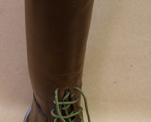 A field boot (unfinished)