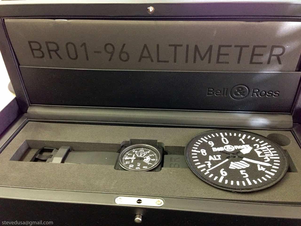 Watch wrist parts - Altimeter