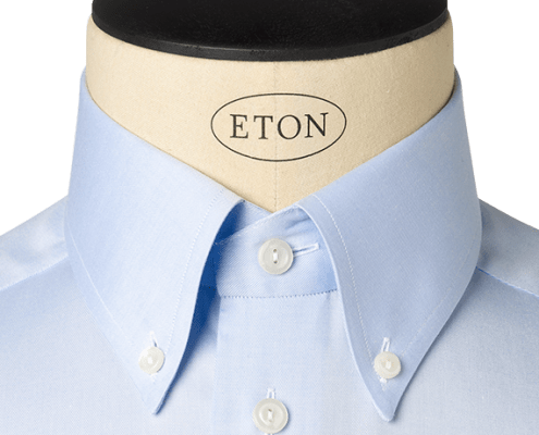 COLLARS - tall button down collar