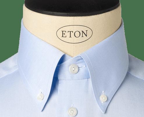 COLLARS - tall button down collar