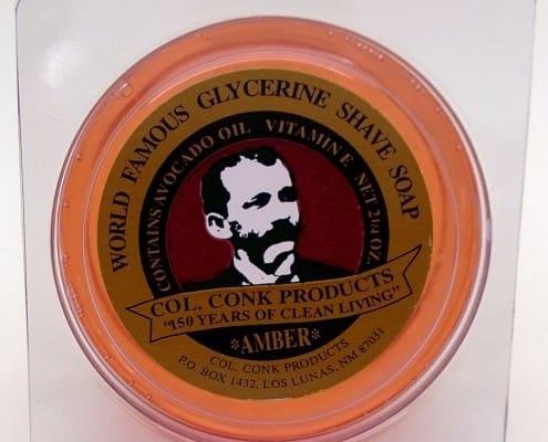 Col Conk 2.25oz Amber Shaving Soap