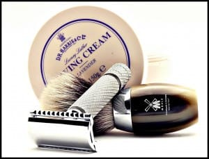D.R. Harris Shaving Cream & Mühle Badger shaving brush