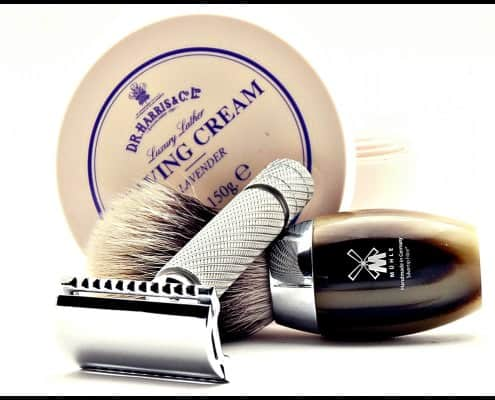 D.R. Harris Shaving Cream & Mühle Badger shaving brush