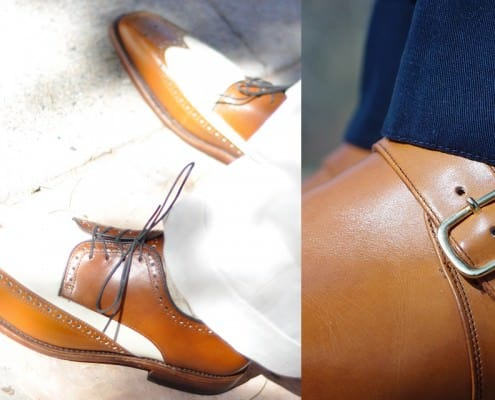 How to pair brown shoes