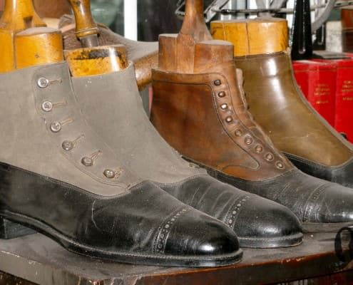 Relics - only equestrian footwear is made nowaday