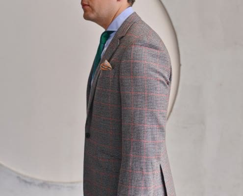 Sideview Legt Indochino MTM Sport Coat