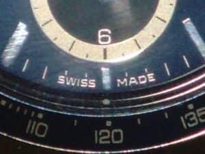 Swiss Made Label