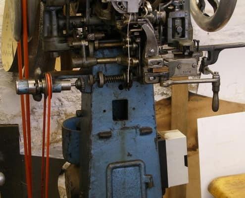 The sole stitching machine
