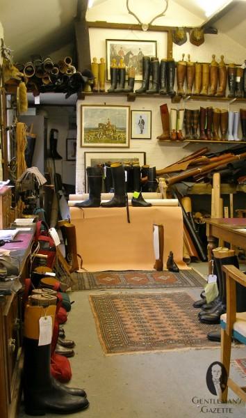 View of Mr Batten's office