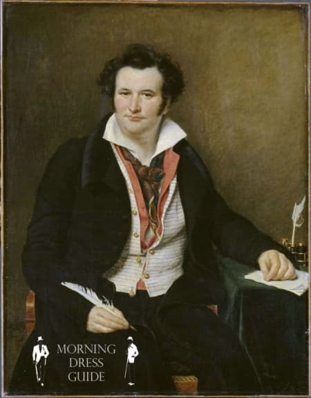 Bernard Wolf with Double Vest in 1823 painted by Sophie Rude