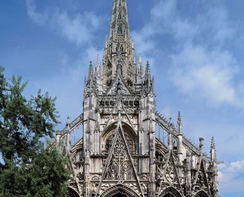 Church of Saint Maclou, Rouen, France