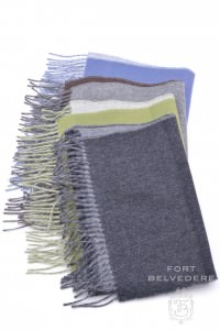 Double Sided Baby Alpaca Scarves - Fort Belvedere