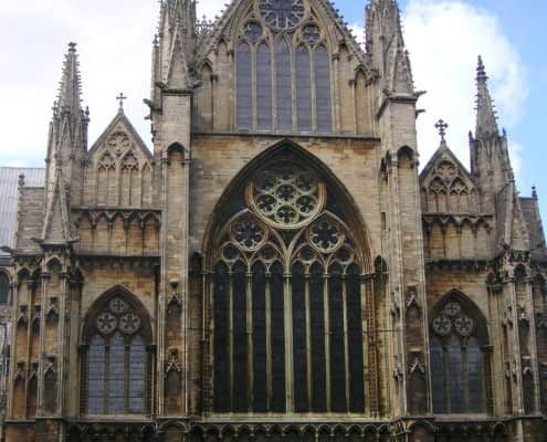 East end of Lincoln Cathedral