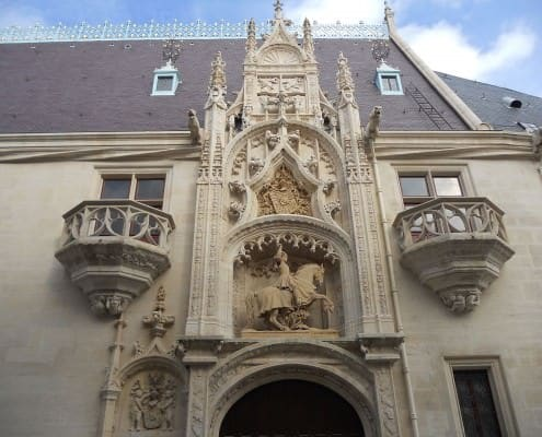 Entrance to the Ducal Palace, Nancy, France