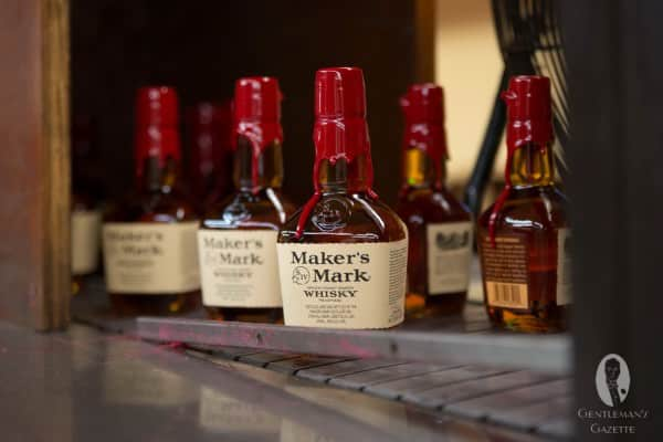 Maker's Mark - every drip is different, every drop the same