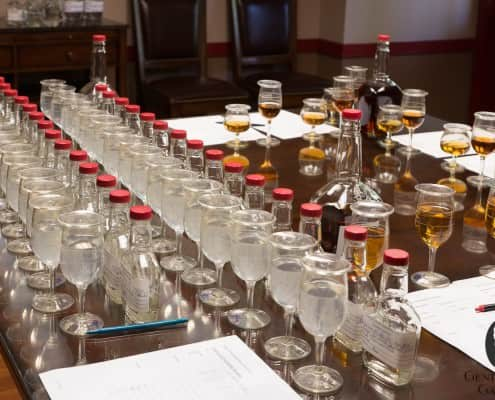 Maker's Mark is most concerned about consistant taste, and they test a lot