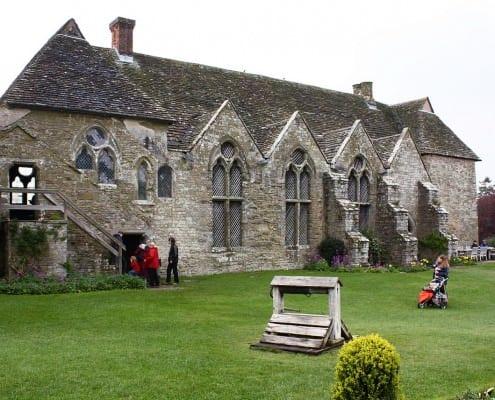 Stokesay Castle, Craven Arms, England