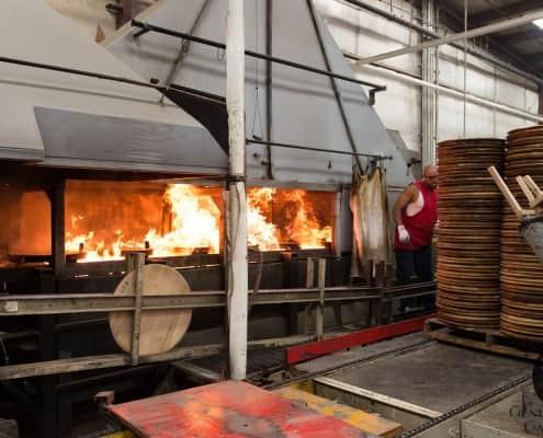 Toasting & Charring of Oak Barrel Heads